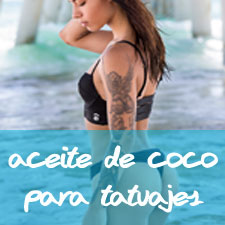 aceite de coco para tatuajes