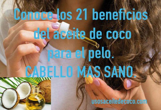 21 BENEFICIOS del ACEITE DE COCO para el PELO