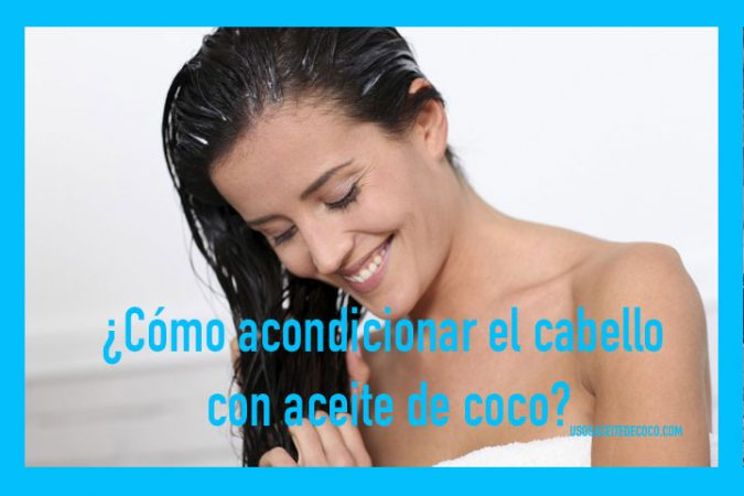 Mascarilla semanal de aceite de coco para el cabello