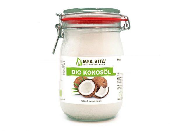 aceite de coco virgen extra orgánico MeaVita?