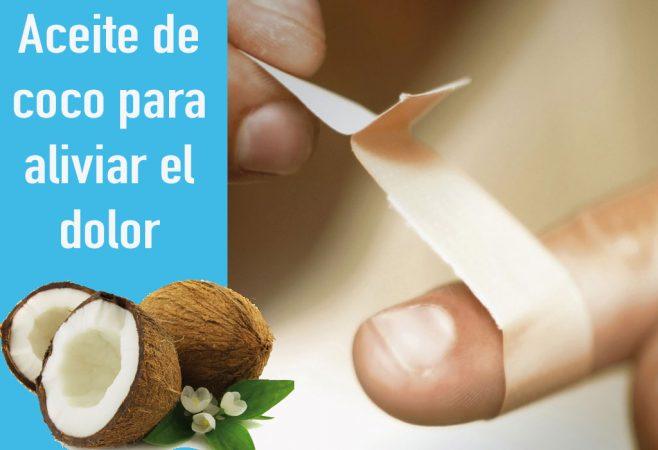 Aliviar y prevenir el dolor con aceite de coco