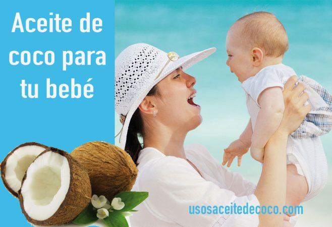 Aceite de coco para el bebé