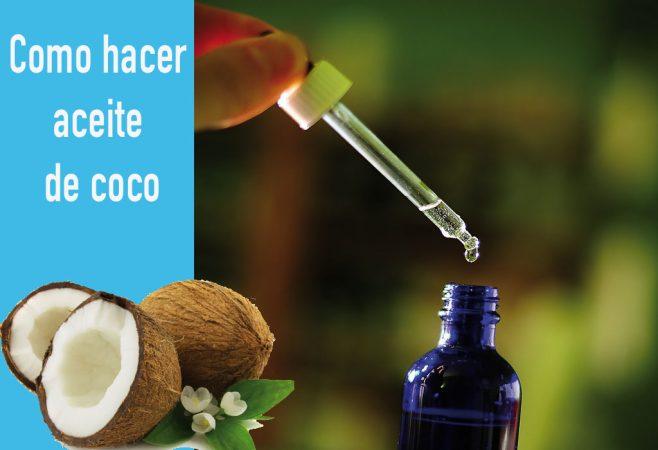 ¿Como extraer aceite de un coco?